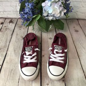 Converse All Stars fabric elastic heel sneakers